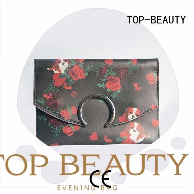 shiny sequins bags wholesale pu cosmetic TOP-BEAUTY Arts & Crafts Brand