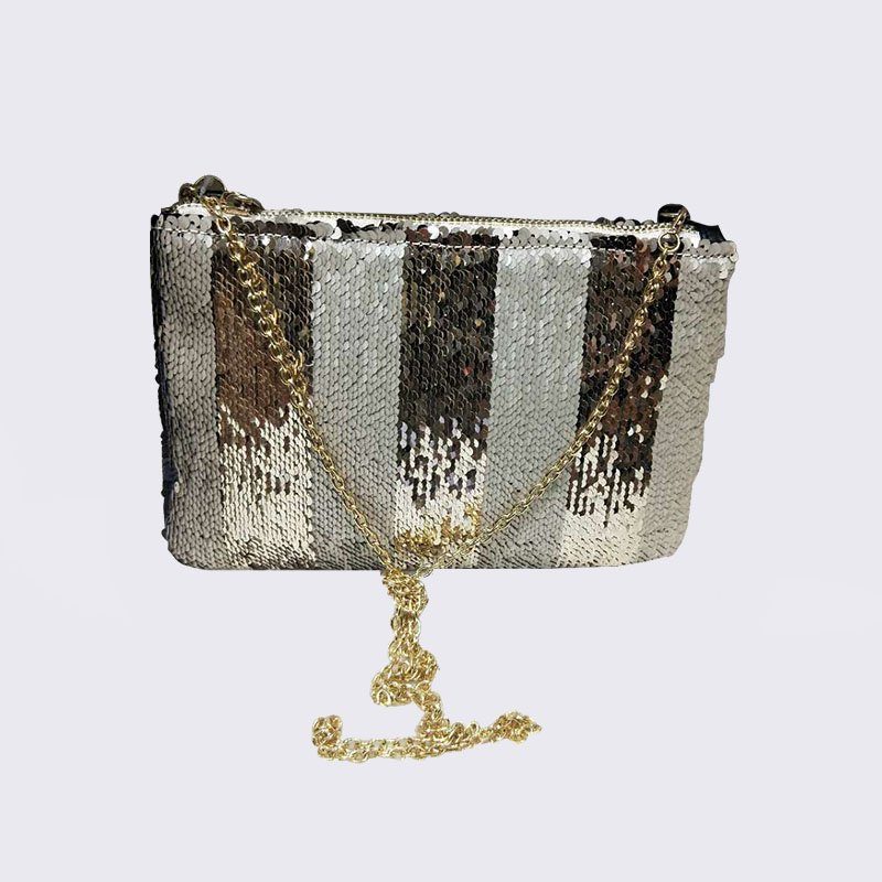 TOP-BEAUTY Arts & Crafts Wholesale Sequin Evening Clutch Bag Sequin Evening Bags image1