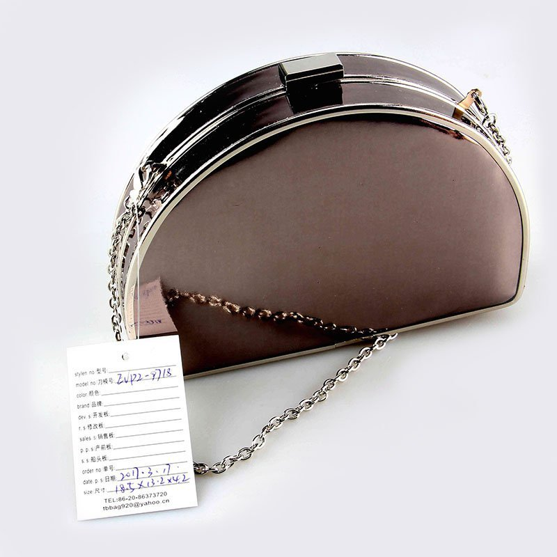 2018 China wholesale Mirror PU Evening Bag For Ladies