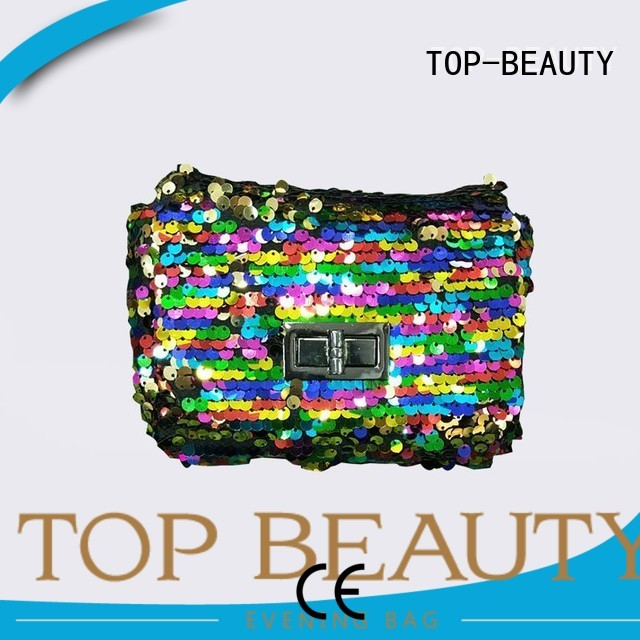 fashionable clutch sequins sling bags TOP-BEAUTY Arts & Crafts Brand