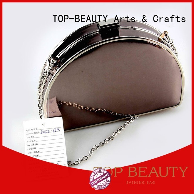 tassels pu clutches TOP-BEAUTY Arts & Crafts Brand sequins sling bags