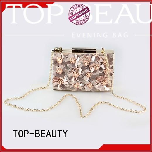 beauty handbag round shiny sequins bags wholesale TOP-BEAUTY Arts & Crafts Brand