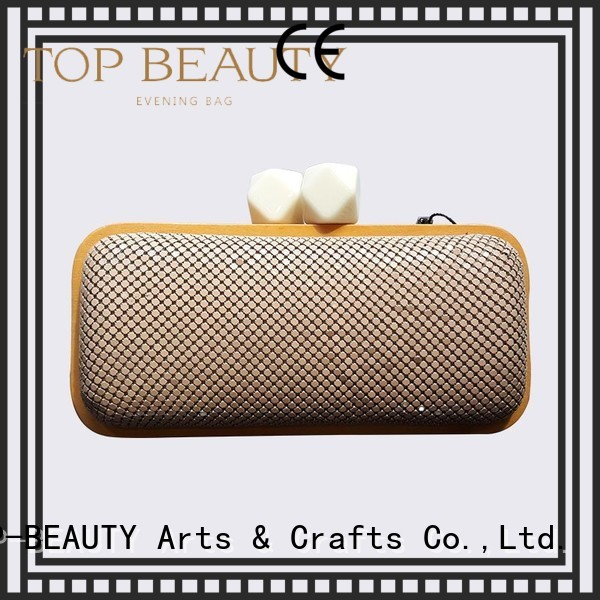 Quality TOP-BEAUTY Arts & Crafts Brand trendy sequinsslingbags