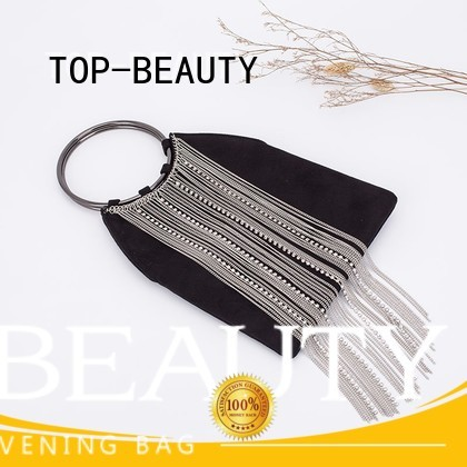 shiny sequins bags wholesale round high quality TOP-BEAUTY Arts & Crafts Brand sequins sling bags