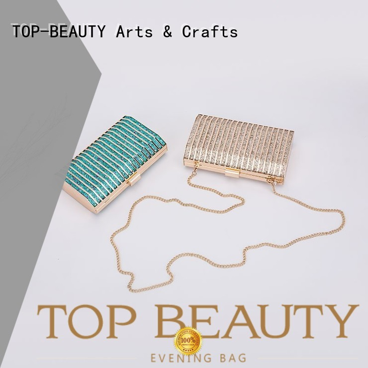 TOP-BEAUTY Arts & Crafts Brand collection clutch shiny sequins bags wholesale evening