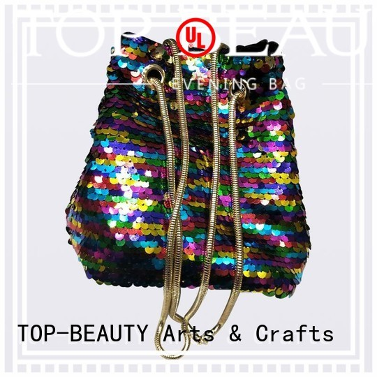 sequin shiny sequins bags wholesale spring TOP-BEAUTY Arts & Crafts company