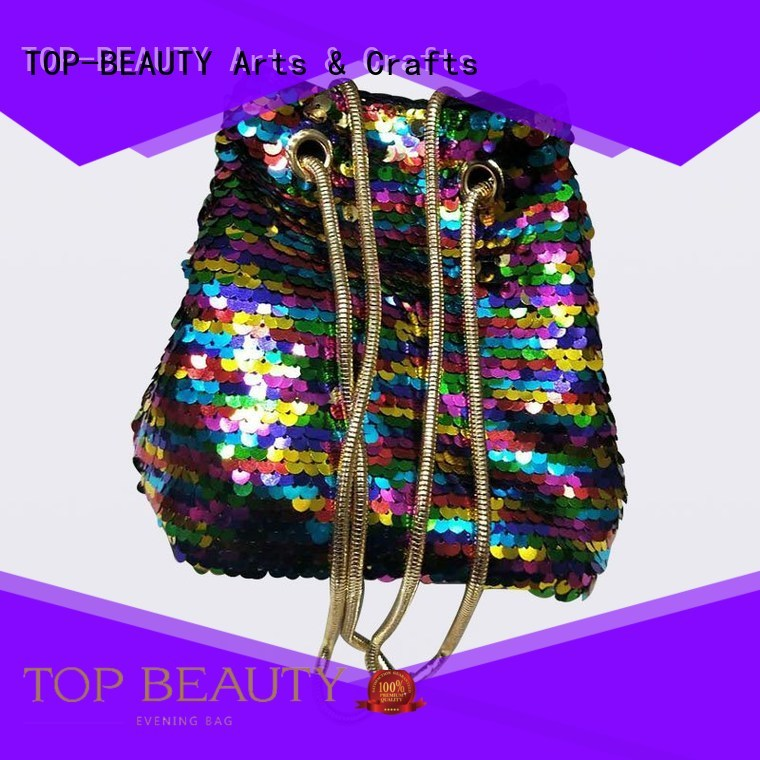 wholesalemirror beaded kiss sequinsslingbags TOP-BEAUTY Arts & Crafts Brand company
