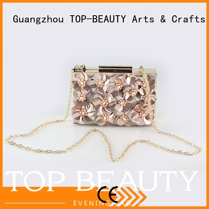 TOP-BEAUTY Arts & Crafts Brand new unique rhinestone  shiny sequins bags wholesale