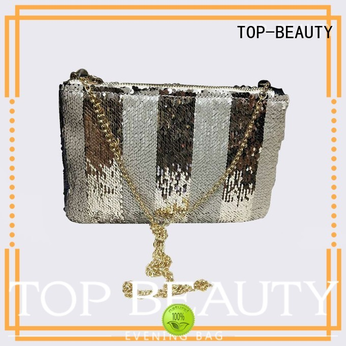 TOP-BEAUTY Arts & Crafts Brand printed shiny sequins bags wholesale laser supplier