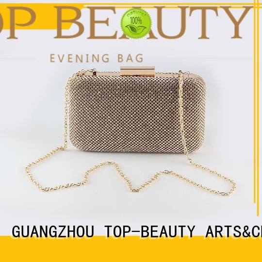 Quality TOP-BEAUTY Arts & Crafts Brand rhinestone wooden sequinsslingbags