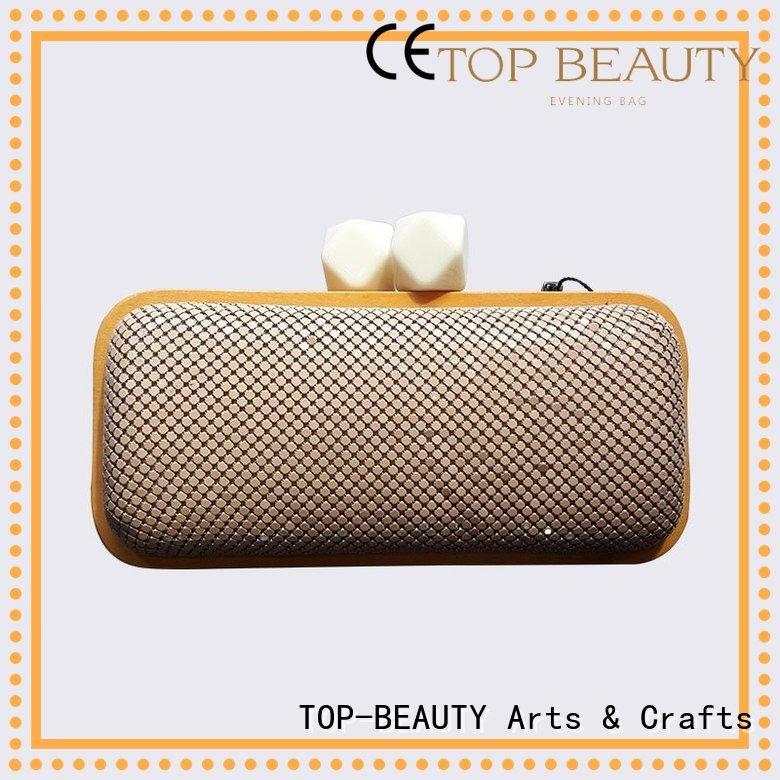 Quality TOP-BEAUTY Arts & Crafts Brand shiny sequins bags wholesale fashionable beaded