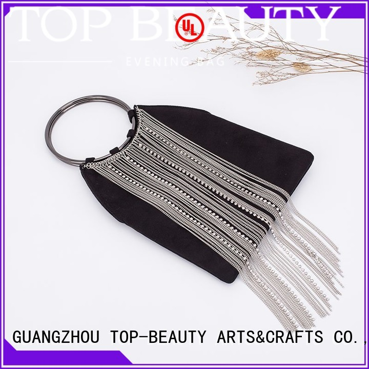 TOP-BEAUTY Arts & Crafts Brand shoulder evening sequinsslingbags tassel factory