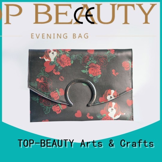 TOP-BEAUTY Arts & Crafts Brand closure popular mirror sequins sling bags manufacture