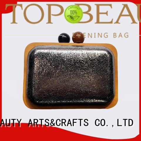 TOP-BEAUTY Arts & Crafts Brand embroidery metallic lock shiny sequins bags wholesale spring