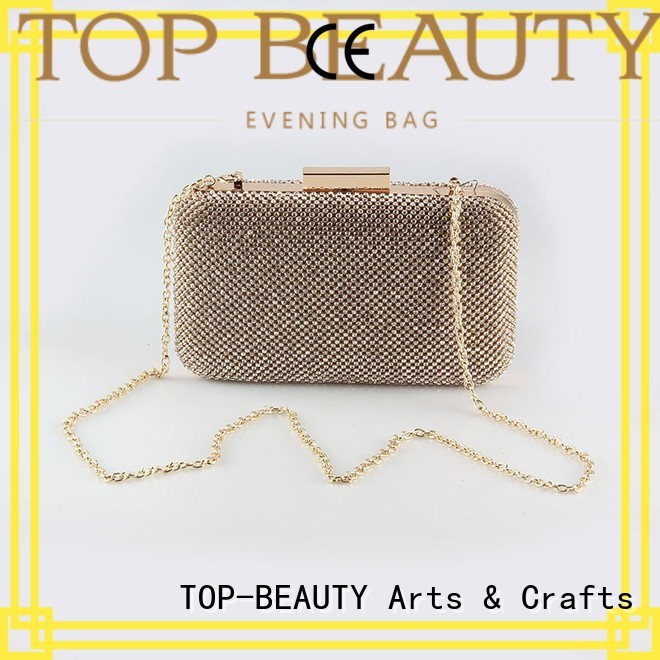 Quality TOP-BEAUTY Arts & Crafts Brand top snake sequinsslingbags