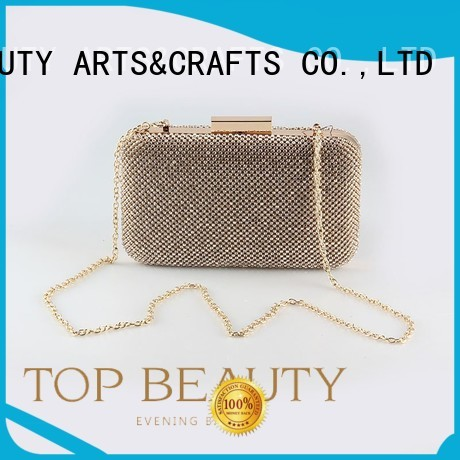 Hot round shiny sequins bags wholesale evening TOP-BEAUTY Arts & Crafts Brand