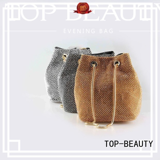 TOP-BEAUTY Arts & Crafts Brand bucket bag bead shiny sequins bags wholesale