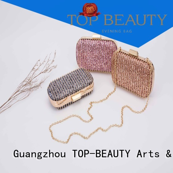 bead shiny sequins bags wholesale clutch metal TOP-BEAUTY Arts & Crafts Brand