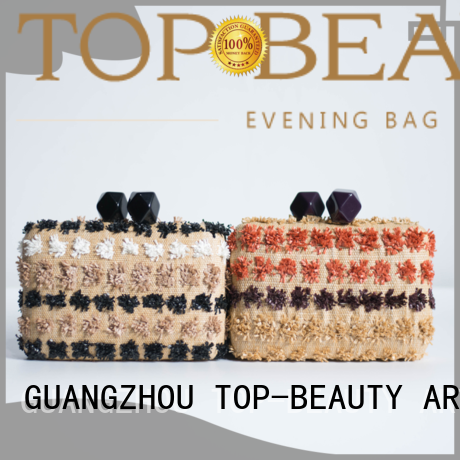 Hot quality shiny sequins bags wholesale tassel TOP-BEAUTY Arts & Crafts Brand