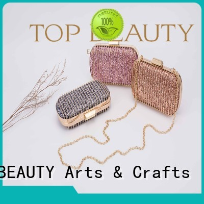 TOP-BEAUTY Arts & Crafts Brand frame bucketbag ladies sequinsslingbags