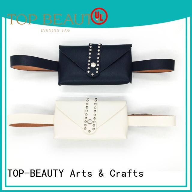 popular rhinestone round TOP-BEAUTY Arts & Crafts Brand sequinsslingbags